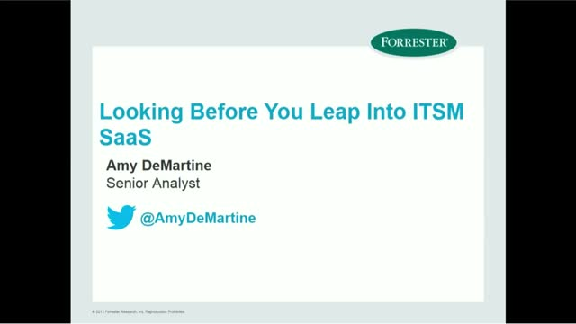 Looking Before You Leap Into ITSM SaaS