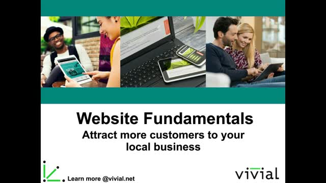 Website Fundamentals - Attract more customers to your local business
