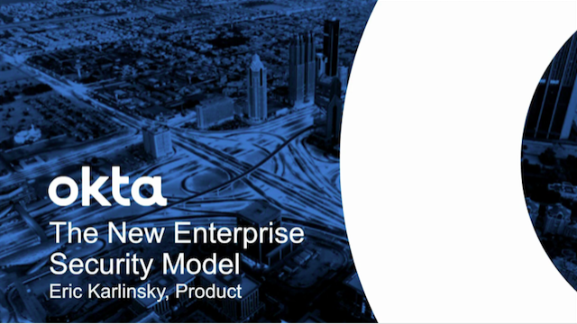 The New Enterprise Security Model: How to Prevent, Detect and Respond