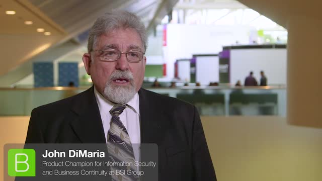 BrightTALK at RSA - John DiMaria: GDPR, Critical Infrastructure & IoT Security