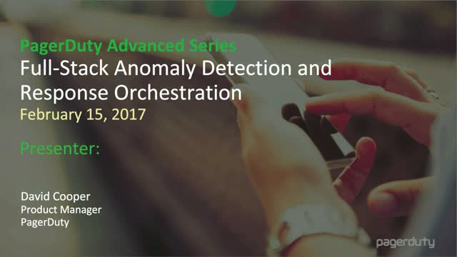 Full-Stack Anomaly Detection and Response Orchestration