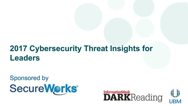 2017 Cybersecurity Threat Insights Report for Leaders