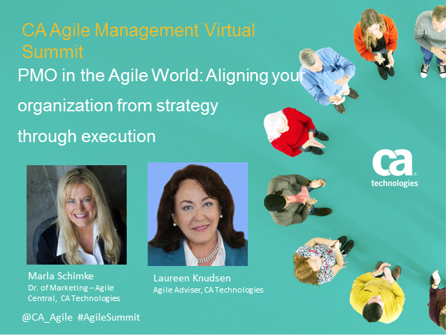 PMO in the agile world: Aligning your Org from strategy through execution