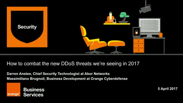DDoS: how to counter the new threats we're seeing in 2017