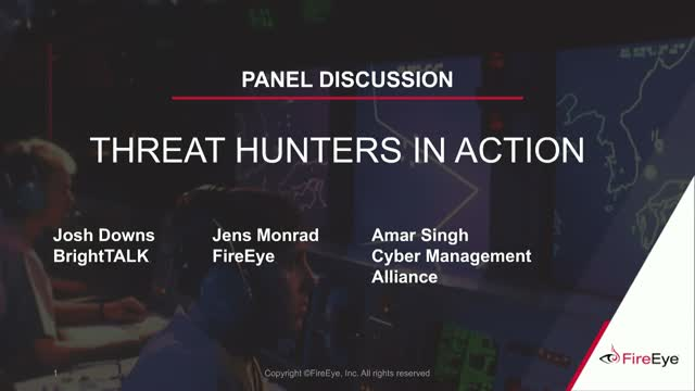 [Live Panel] Threat Hunters in Action