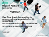 Real Time, Predictive analytics to ensure customer experience for 1B subscribers