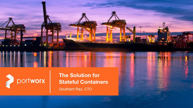 State of the Art: Solving the Persistent Storage Challenge for Containers