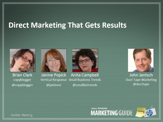 Direct Marketing that Gets Results