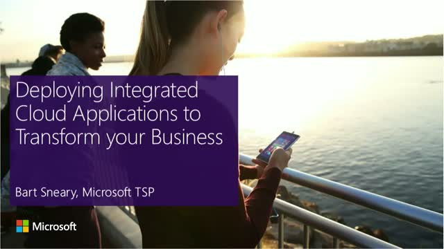 Deploying Integrated Cloud Applications to Transform your Business