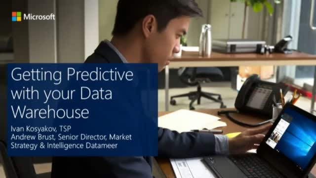 Getting Predictive with your Data Warehouse