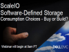 ScaleIO Software-Defined Storage Consumption Choices - Buy or Build?