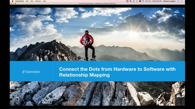 Connect the Dots from Hardware to Software with Relationship Mapping