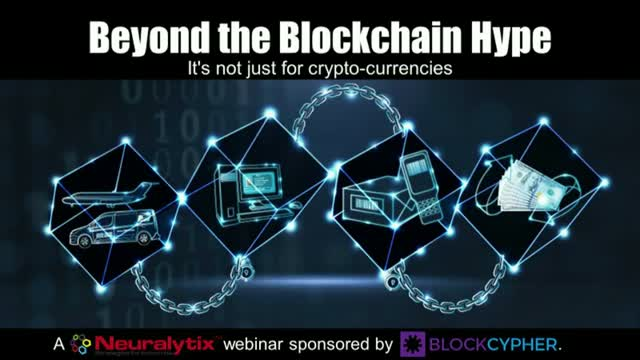 Beyond the Blockchain Hype (It's not just for crypto-currencies)