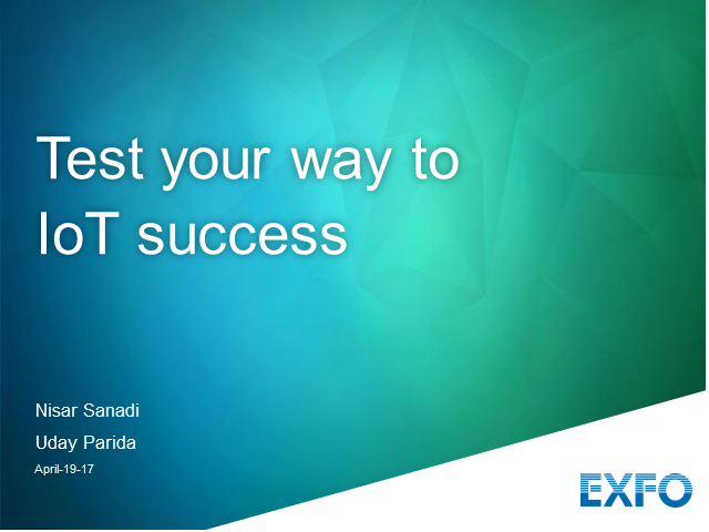 Test your way to NB-IoT success