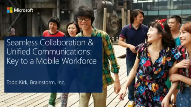 Seamless Collaboration & Unified Communications: Key to a Mobile Workforce
