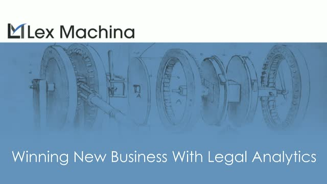 The Future of Law - Winning New Business with Legal Analytics