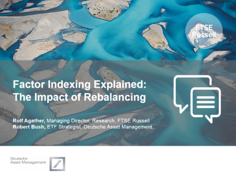 Factor Indexing Explained: The Impact of Rebalancing