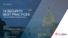 10 Security Best Practices for Government Organizations