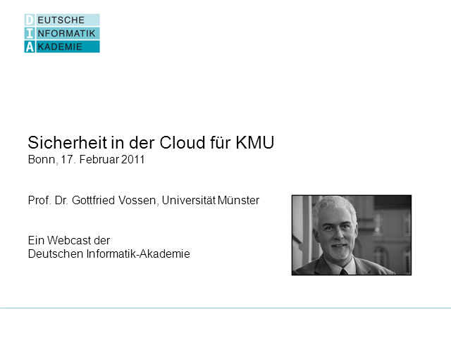 Security in der Cloud für KMU