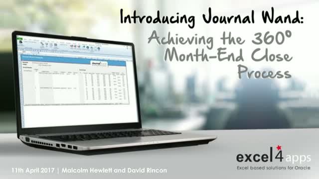 Introducing Journal Wand: Achieving the 360° Month End Close Process