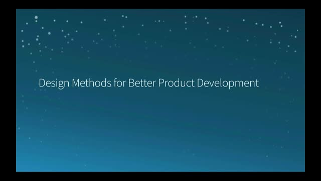 SNC - Design Methods for Better Product Development
