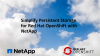 Simplify Persistent Storage for Red Hat OpenShift with NetApp