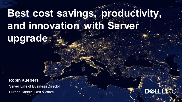 Boost cost savings, productivity, and innovation with server upgrade (ENG)
