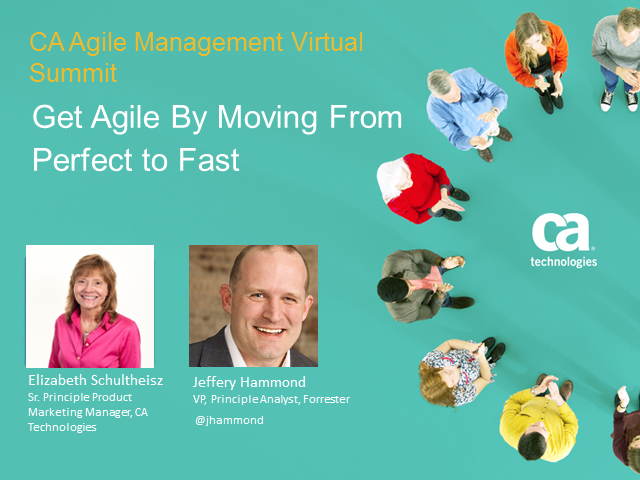 Get Agile By Moving From Perfect to Fast