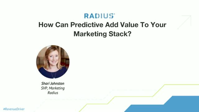 How Can Predictive Add Value To Your Marketing Stack?