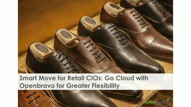 Smart Move for Retail CIOs: Go Cloud with Openbravo for Greater Flexibility