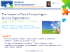 The Impact of Cloud Computing on Service Organizations