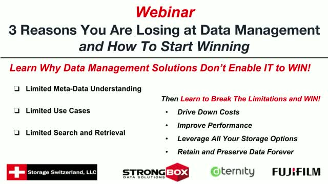 3 Reasons You Are Losing the Data Management Battle and How To Start Winning