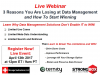 Webinar: 3 Reasons You Are Losing the Data Management Battle