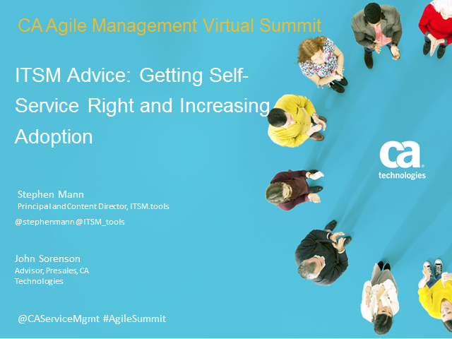 ITSM Advice: Getting Self-Service Rightand Increasing Adoption