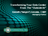 Transforming Your Data Center From The 'Outside-In'