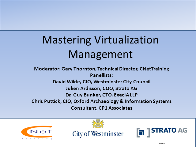 Mastering Virtualization & Cloud Management