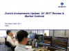 Zurich Investments Update: Q1 2017 Review and Market Outlook