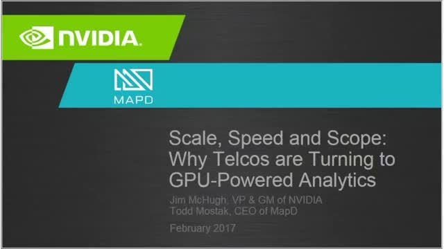 Scale, Speed and Scope: Why Telcos Are Turning to GPU-Powered Analytics