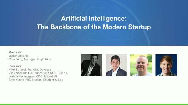Panel: AI - The Backbone of the Modern Startup