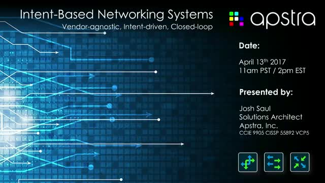 Apstra Intent-Based Networking Systems
