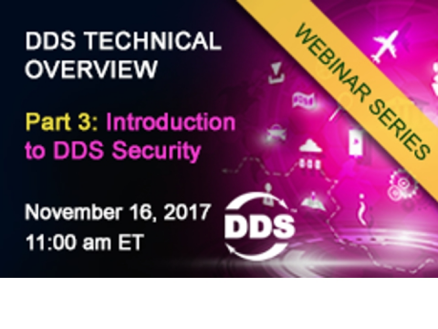 DDS Technical Overview Part III - Using DDS to Secure Data Communications