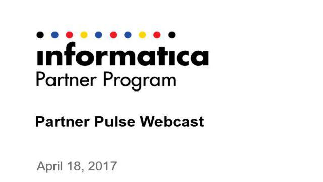Partner Pulse Webcast