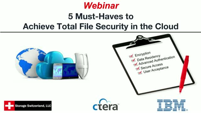 5 Must-Haves to Achieve Total File Security in the Cloud