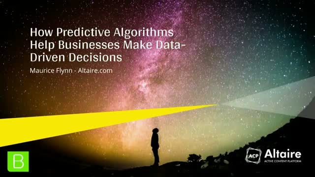 How Predictive Algorithms Help Businesses Make Data-Driven Decisions