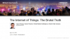 The Internet of Things:  The Brutal Truth