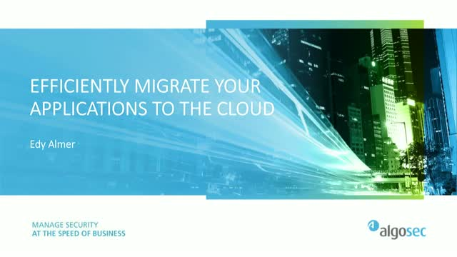 Migrating application connectivity to the cloud