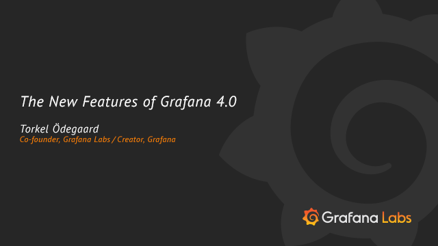 New Features in Grafana 4.0