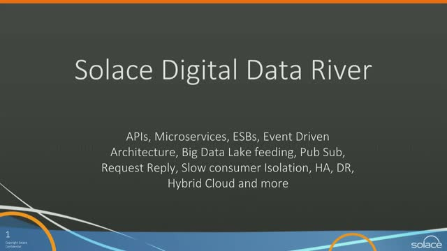 Big Data Rivers: The Power of Data in Motion