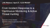 From Incident Response to a Continuous Monitoring & Active Threat Hunting