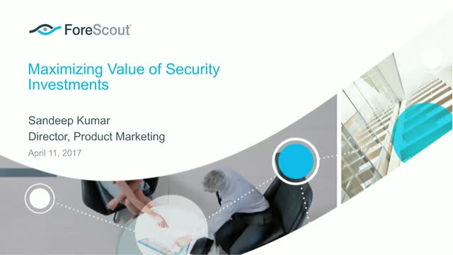 Maximizing Value of Security Investments